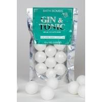 Gin and Tonic Bath Bombs
