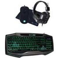 Raptor RGB Gaming Keyboard and Headset
