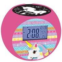 Lexibook Unicorn Radio with Projector Alarm Clock