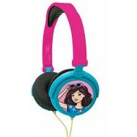 Lexibook Barbie Foldable Stereo Headphones with Volume Limiter
