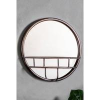 Milton Round Mirror