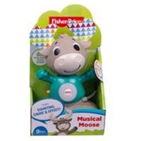 Fisher Price Laugh and Learn Bobble Head Reindeer