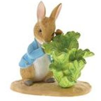 Beatrix Potter Peter Rabbit with Lettuce Figurine
