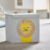 Potwells Animal Range-Lion Storage Boxes