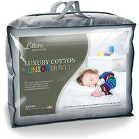 9 Tog Luxury Cotton Junior Cot Bed Duvet
