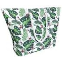 Beach Cooler Tote Bag Leaf