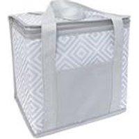 Cooler Bag Grey Geo 12l