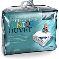 7.5 Tog Goose Feather and Down Junior Cot Bed Duvet