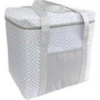 Cooler Bag Grey Geo 28l