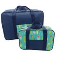 Set Of 2 Cooler Bag Set Cactus