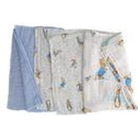 Pack of 3 Peter Rabbit Baby Muslin Squares