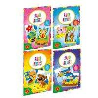 Alexander Toys Set of Four Sand Artist Colouring Sets