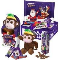 Cadbury Buttons Monkey Christmas Toy Gift