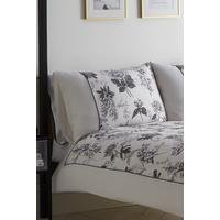 Illustrated Floral Print Pillowcase Pair