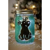 Make Your Own Snowman and Snowdog Lantern