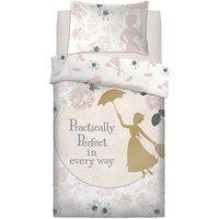Mary Poppins Perfect Single Reversible Duvet Set