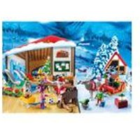 Playmobil Advent Calendar Santa Workshop with Lantern
