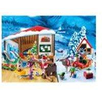 Playmobil Advent Calendar Santa Workshop with Lantern