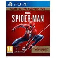PS4: Marvels Spiderman: Game of the Year Edition
