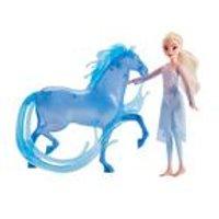 Disney Frozen 2 Elsa Fashion Doll and Nokk