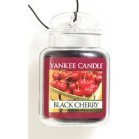 'Yankee Candle Plastic 3d Car Jar Shaped Black Cherry Fragrance