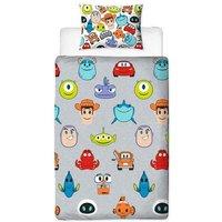 Pixar Toy Story Emoji Single Rotary Duvet Set