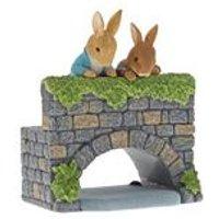 Peter Rabbit Peter and Benjamin Bunny on the Bridge Figurine