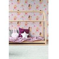 Disney Princess Pastel Pink Wallpaper