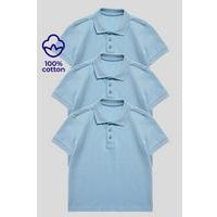 Pack of 3 Unisex Polo Shirts