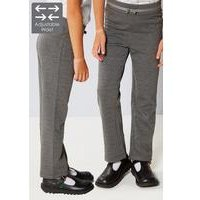 Pack of 2 Girls Ponte Trousers