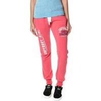 Superdry Track and Field Pink Jogger