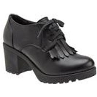Girls Shoes With Fringed Detail
