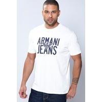 Armani Jeans Eagle Logo Printed T-Shirt