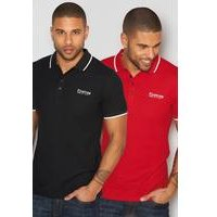 Firetrap Pack of 2 Polo Shirts