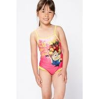 Girls Minions Swimming Costume