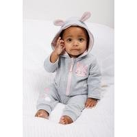 Baby Girls Rabbit Tracksuit With Badges