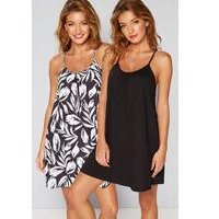 Pack Of 2 Palm Springs Twisted Strap Beach Dresses