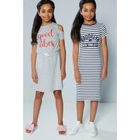 Older Girls Pack Of 2 Dresses