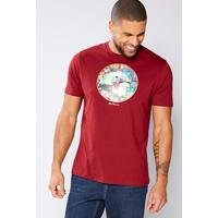 Ben Sherman Graphic T-Shirt - Wine at Ace Catalogue
