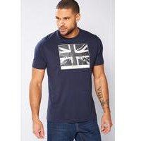 Ben Sherman Graphic T-Shirt - Navy