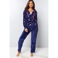 Fleece Star Lounge Suit