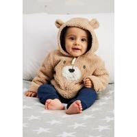Baby Boys Teddy Bear Fleece Jacket