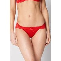 Satin and Lace Brief Knicker