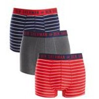 Ben Sherman Pack Of 3 Stripe Boxers