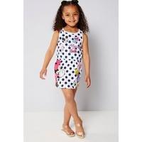 Girls Minnie Mouse Polka Dot Dress