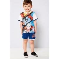 Boys Avengers Shorts and T-Shirt Set