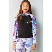 Girls Beck and Hersey Ruby Funnel Neck Jacket