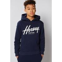 Boys Beck and Hersey Kingston Logo Tape Hoody