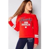 Girls Beck and Hersey Julia Off Shoulder Sweater
