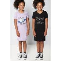 Older Girls Pack of 2 Cool Vibes Dresses